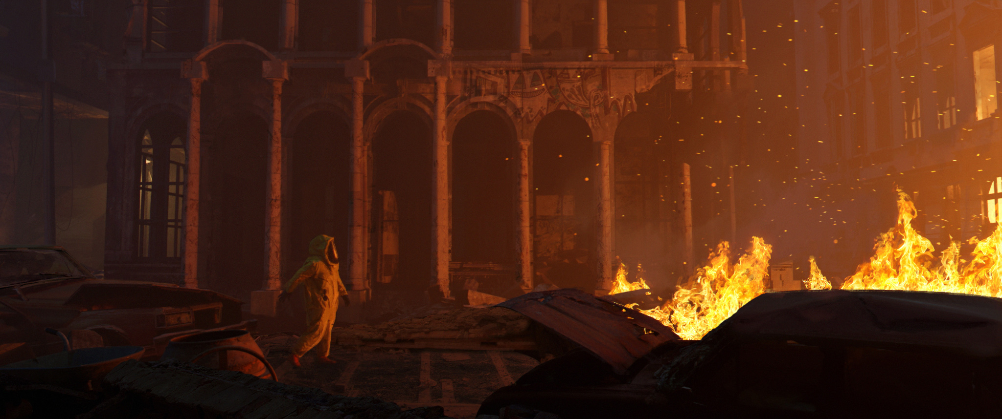 Cinematic Concept Design, ASHES, By The Fire