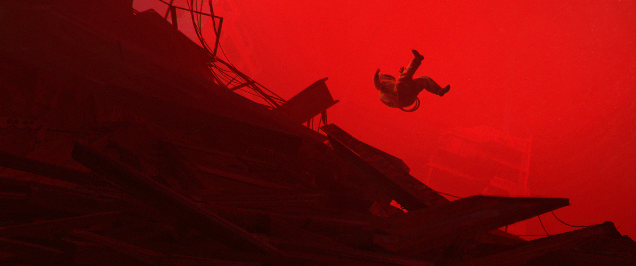 Cinematic Concept Design, ASHES, Free Falling