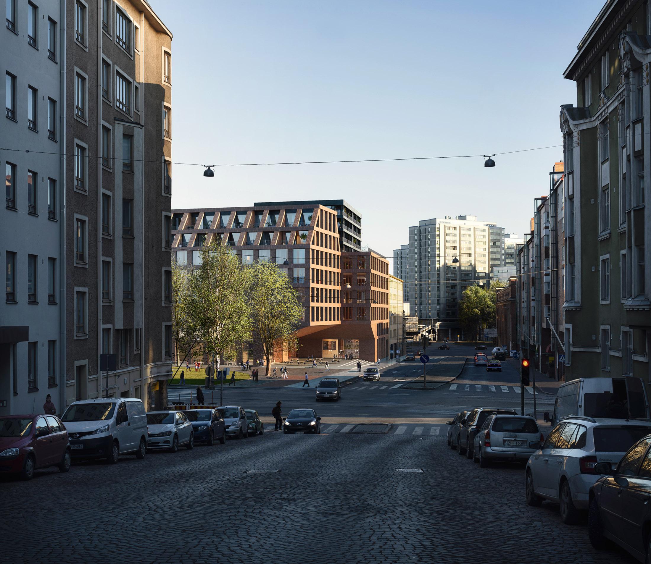 Anttinen Oiva Architects, Haapaniemenkatu, Finland, 2019