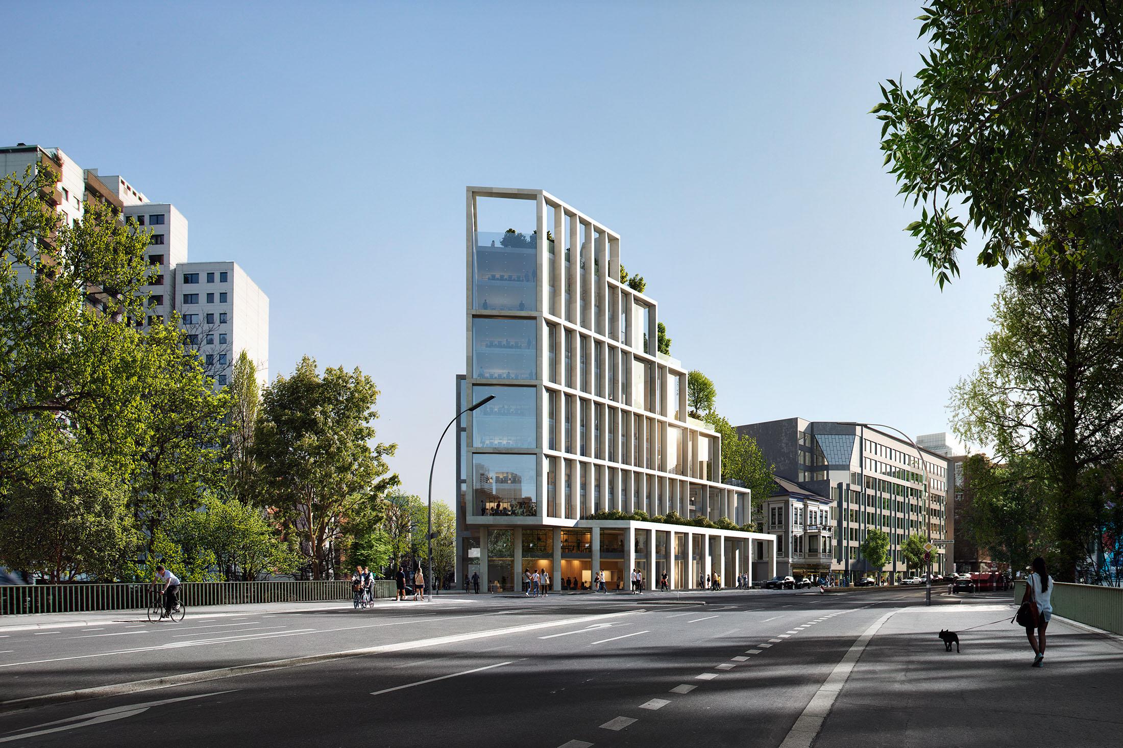 CF Moller, Berlin Hyp Bank Head Quarters, Germany, 2020