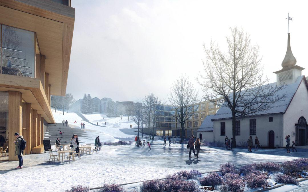 KOHT_NTNU Campus_Ice Ring