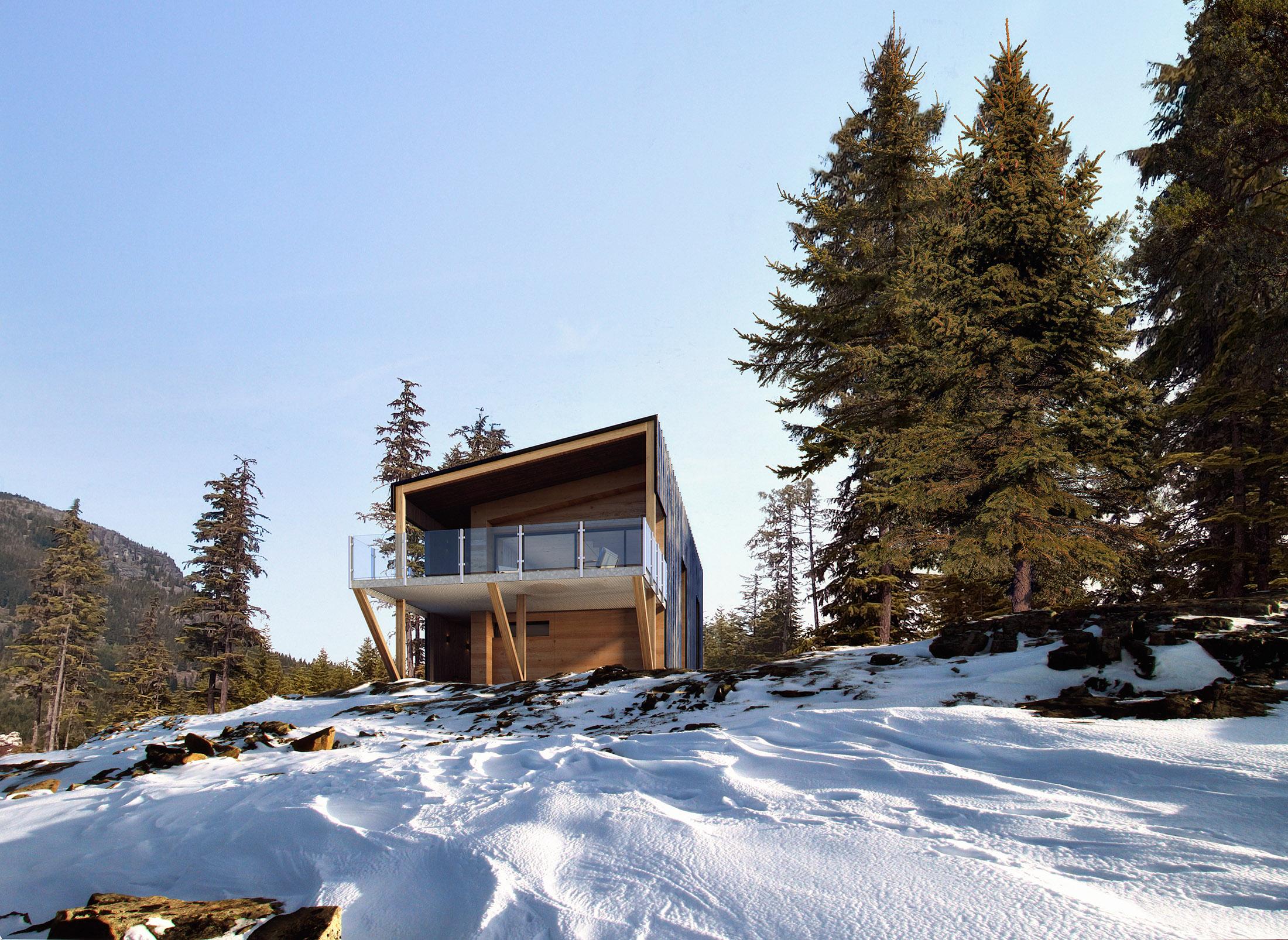 Perkins & Will, Mountain Residence, EEUU, 2020