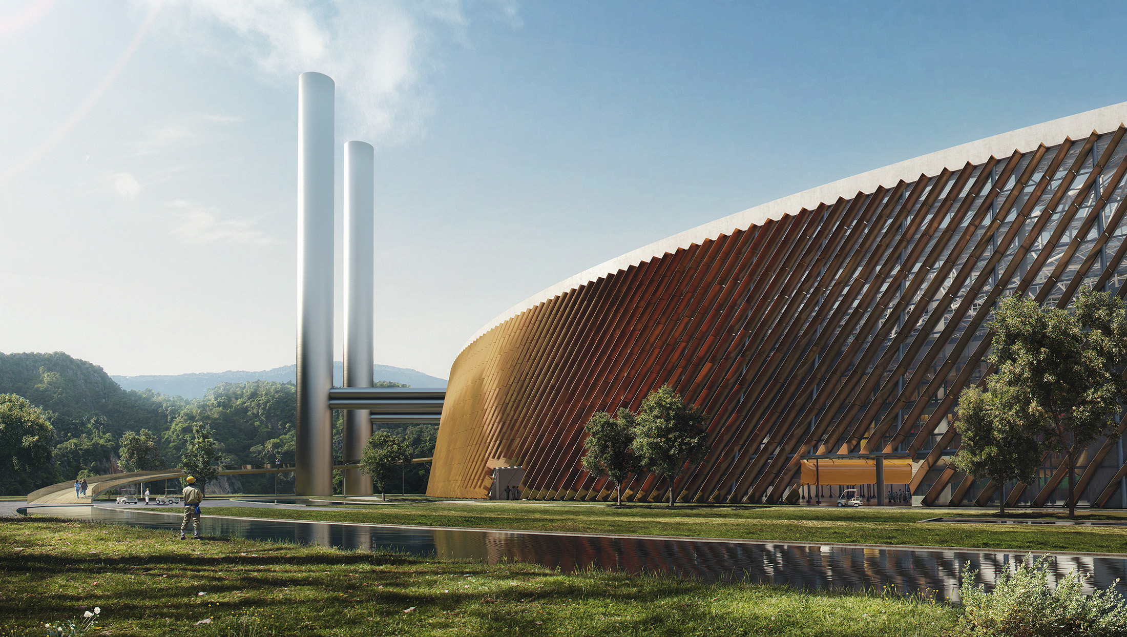 Schmidt Hammer Lassen Architects, Waste-to-Energy Plant, China, 2016