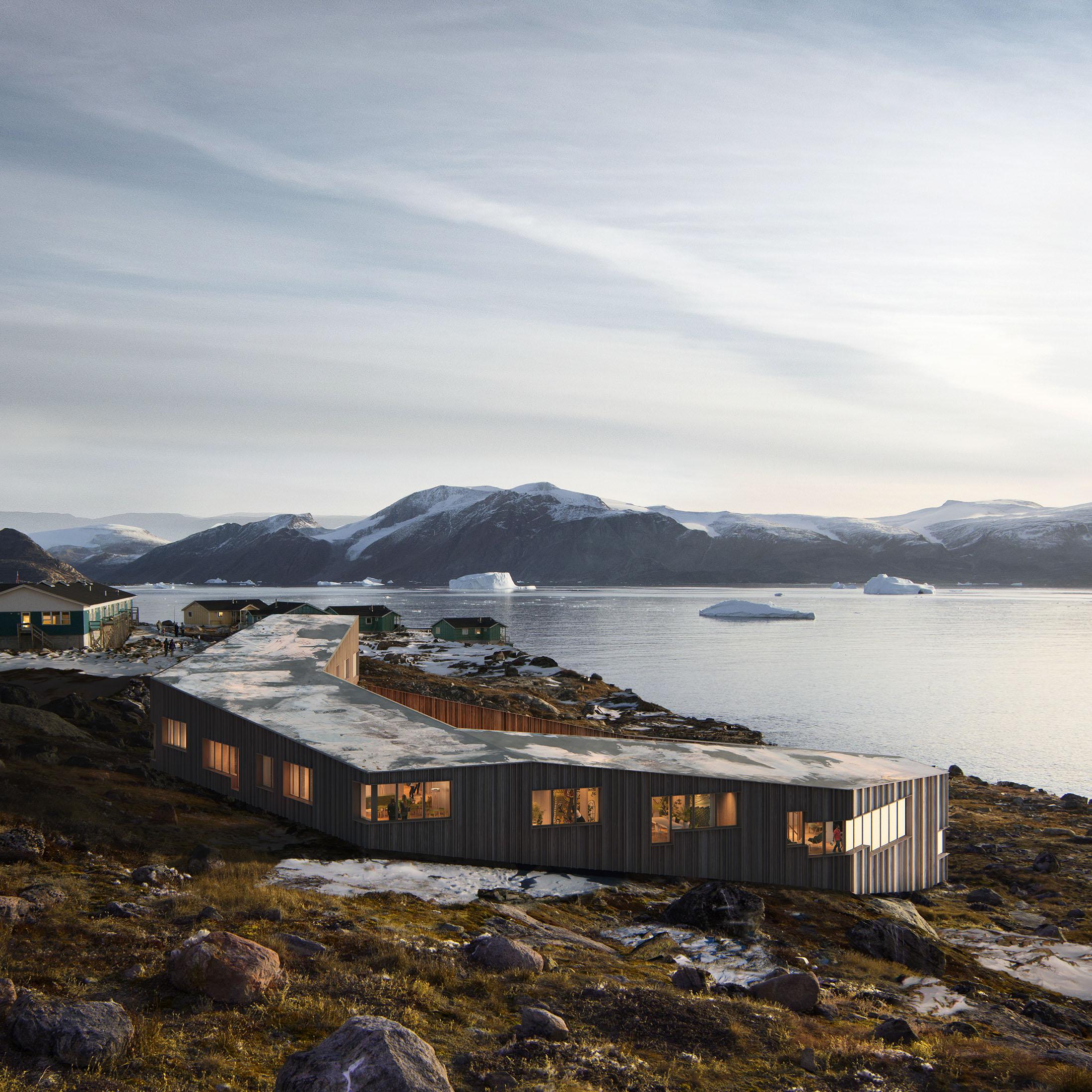 Biosis Architects, Kullorsuaq, Greenland, 2020