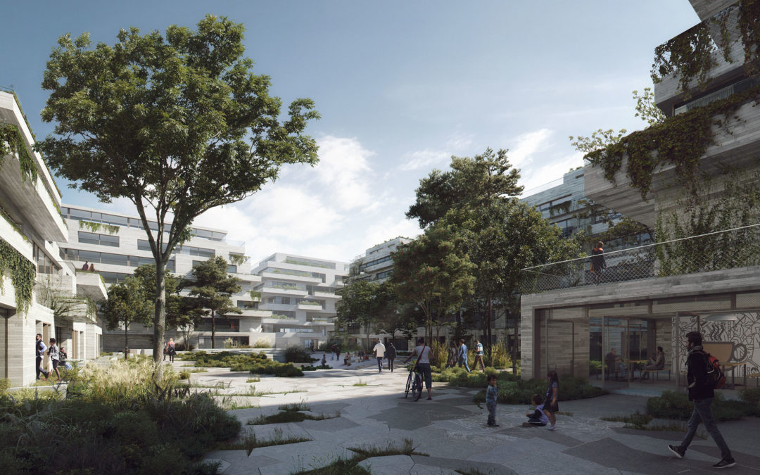 COBE wins a competition to design Kronløb Island