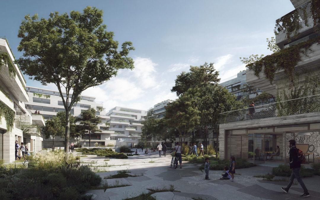 COBE wins a competition to design Kronløb Island
