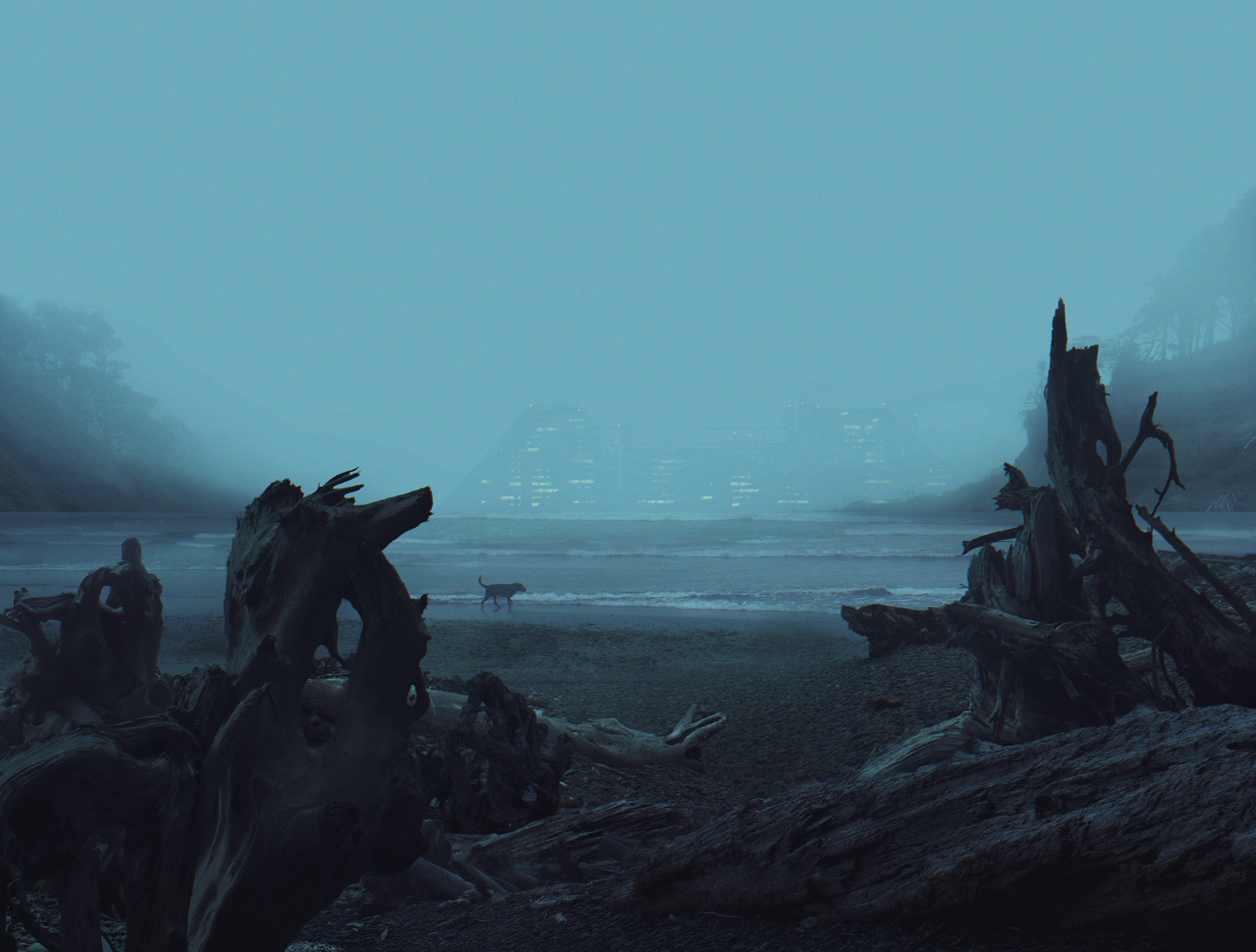 Cinematic Concept Design, Dogs Will Rule The Night