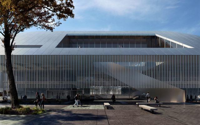 KAAN ARCHITECTEN_Buersplein Congress & Exhibition Center_Rhythm