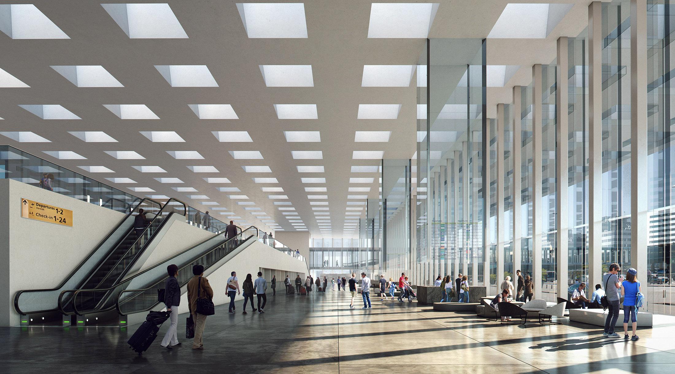 KAAN, Schiphol New Terminal, Netherlands, 2017