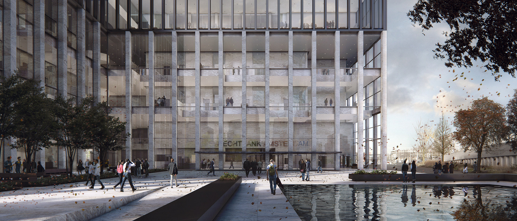 KAAN, New Amsterdam Courthouse, The Netherlands, 2016
