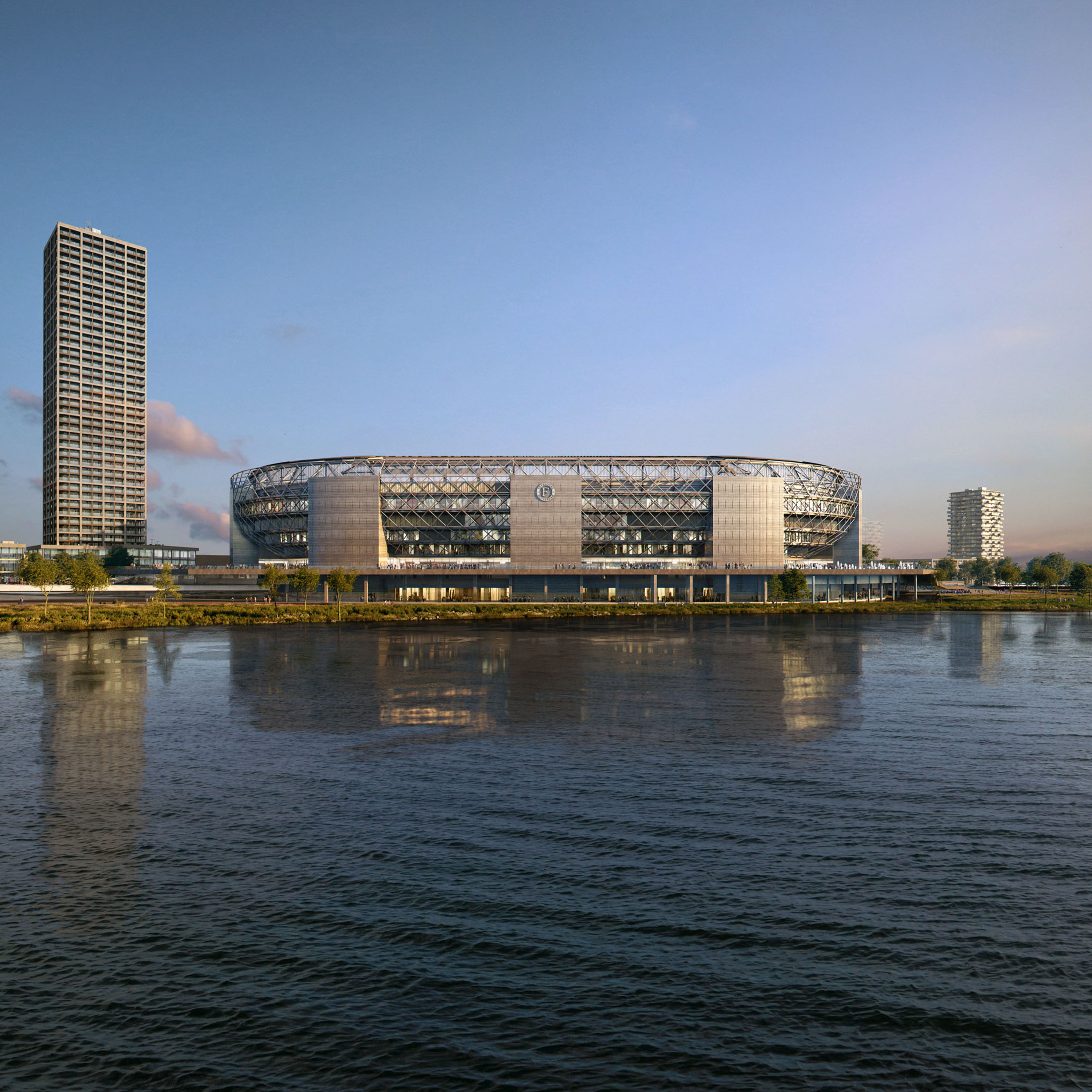 OMA, New Feyenoord Stadium, The Netherlands, 2020