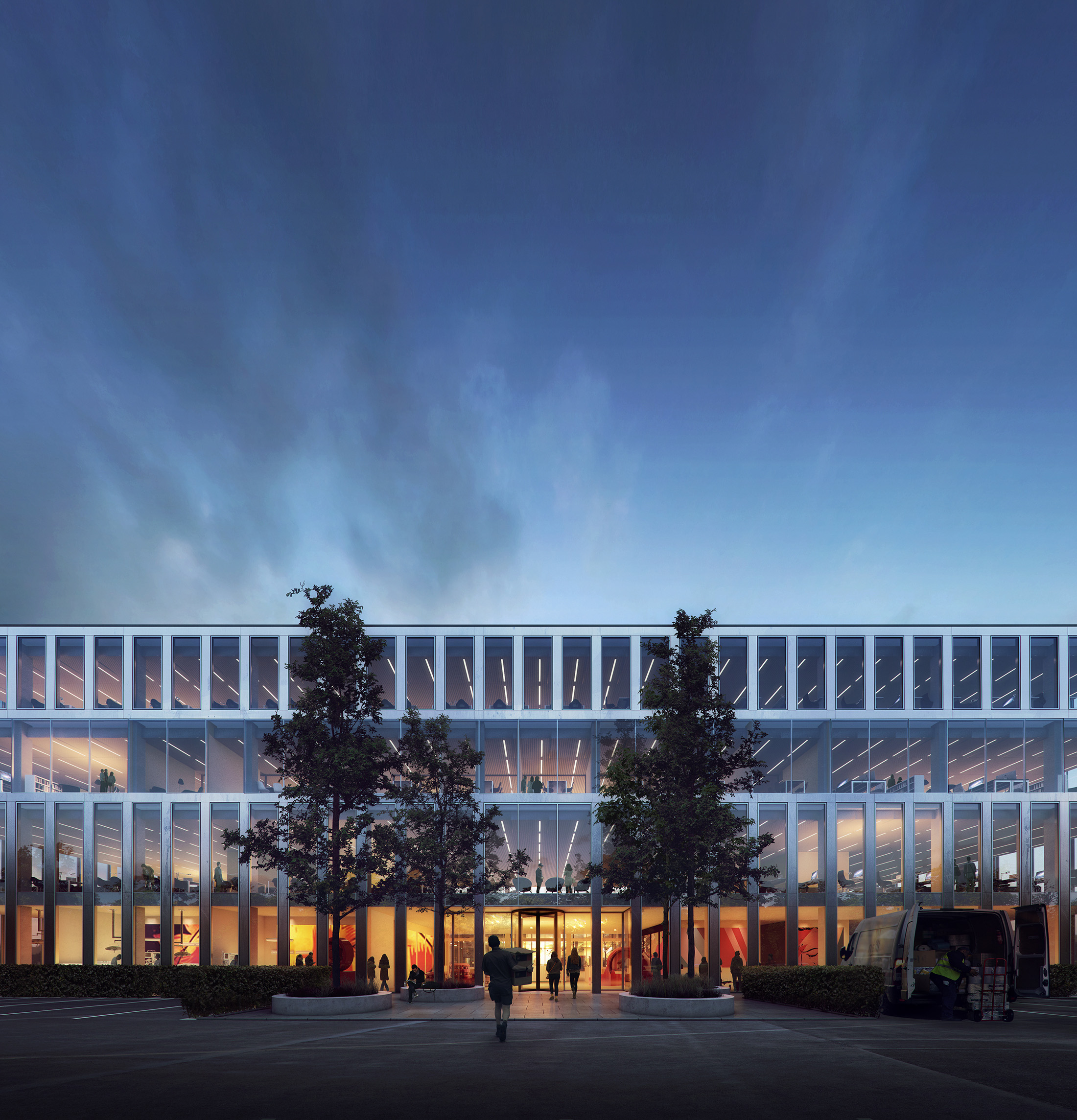 Powerhouse Company, Offices in Utrecht, The Netherlands, 2017