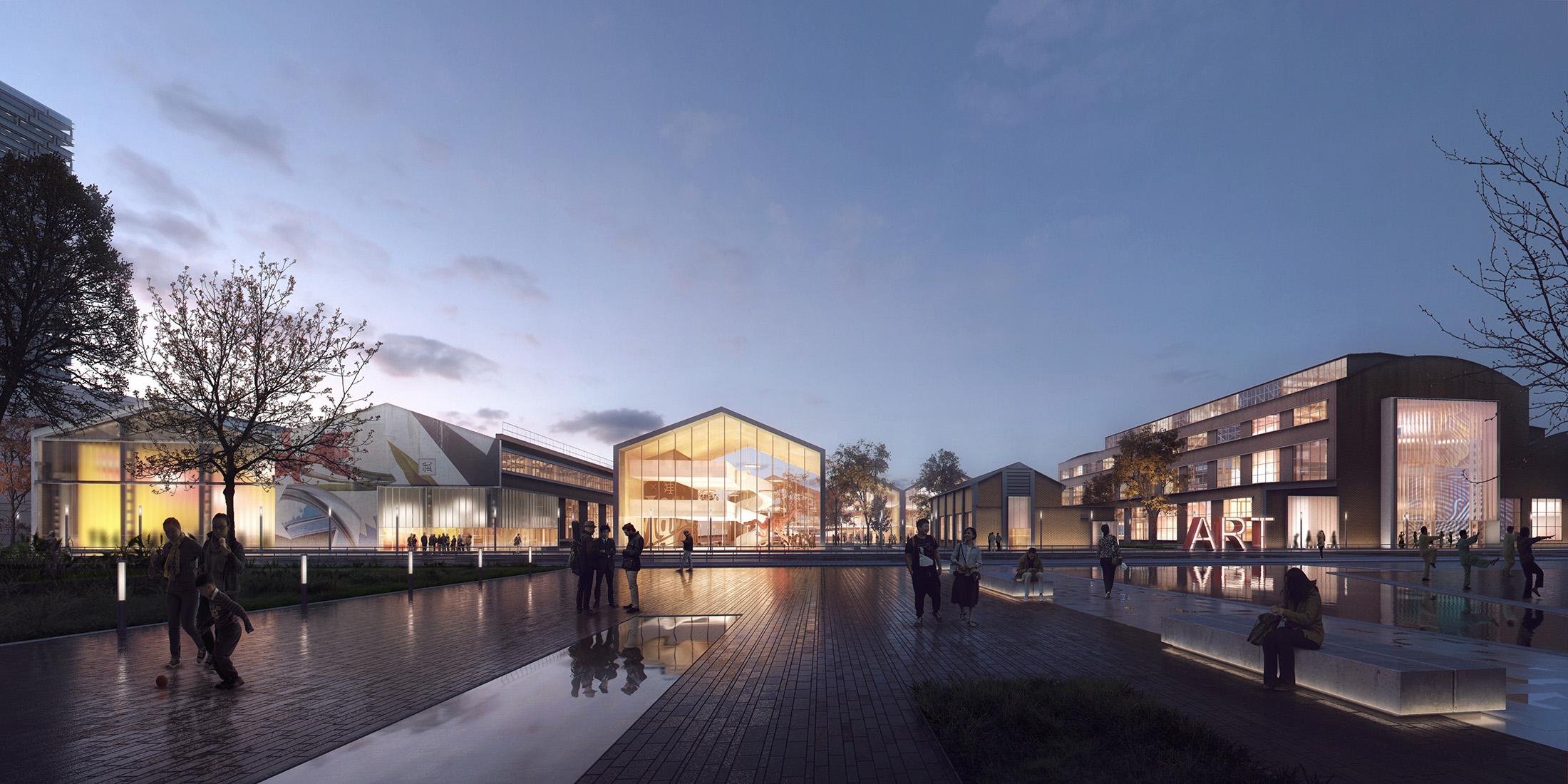 Schmidt Hammer Lassen, Warehouse to Cultural Center Renovation, China, 2016