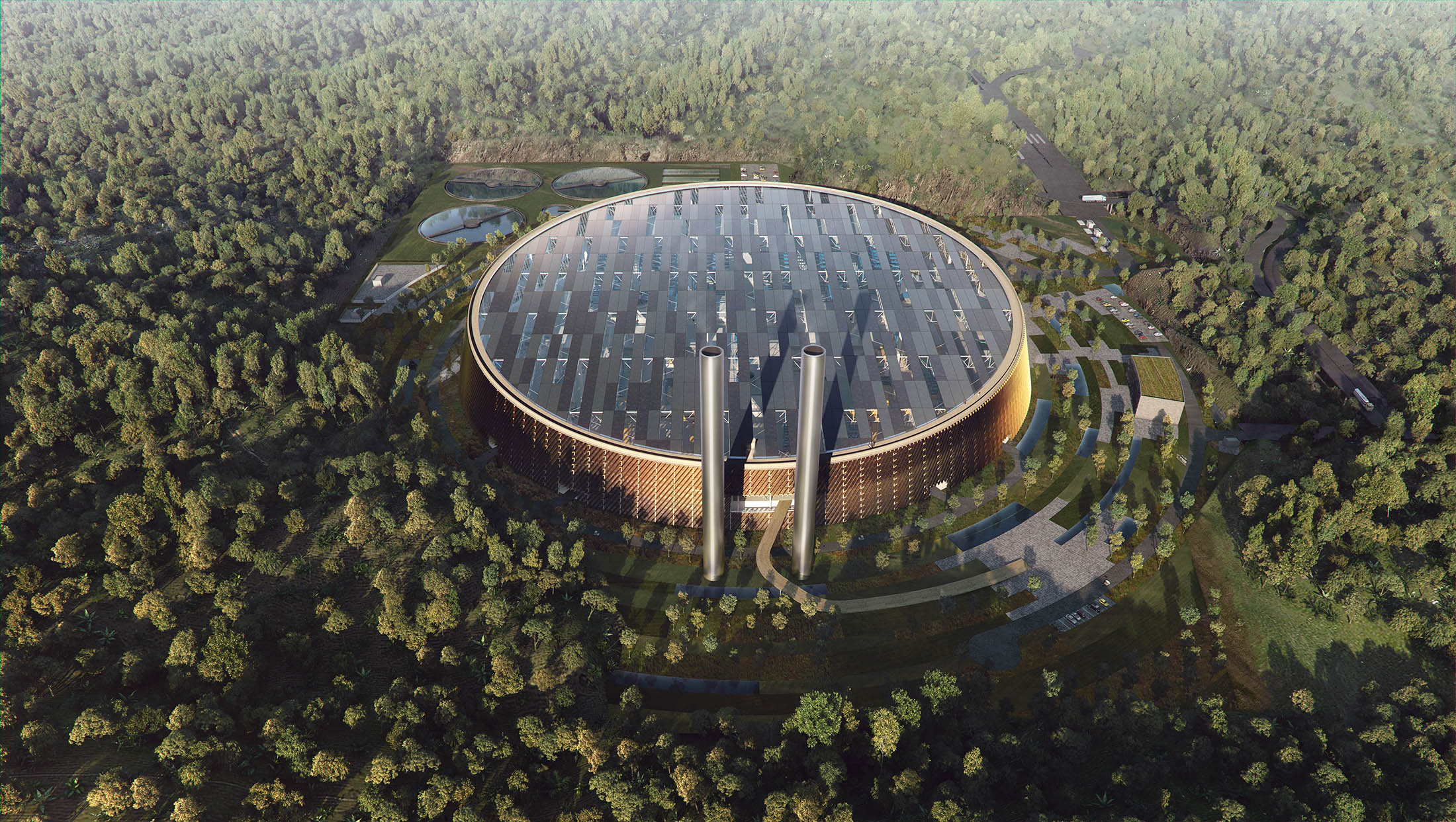 Schmidt Hammer Lassen, Waste-to-Energy Plant, China, 2016