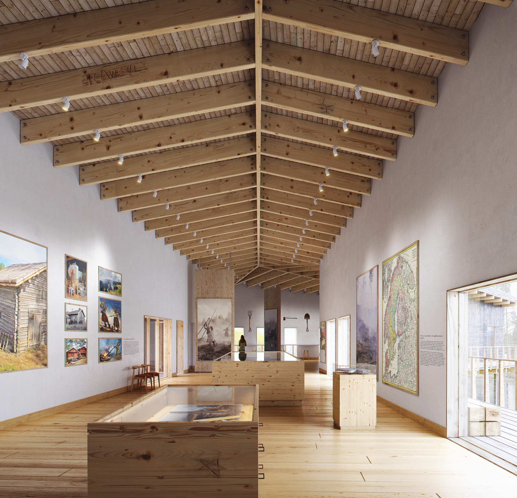Simsand Architects, Skogfinsk Museum, Norway, 2018