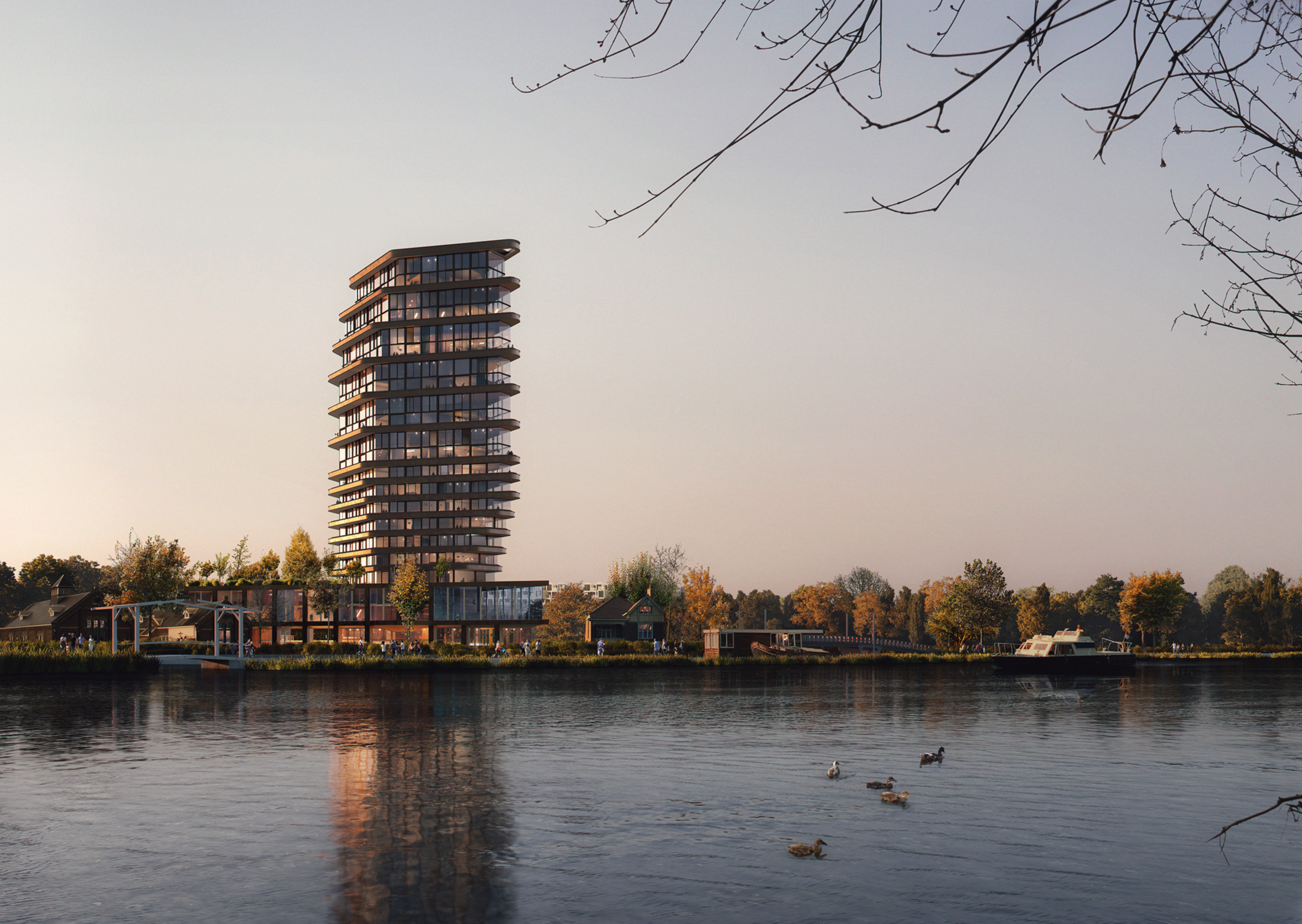 Tenderboost+Koschuch+Arup, Amstelkwartier, Netherlands, 2020