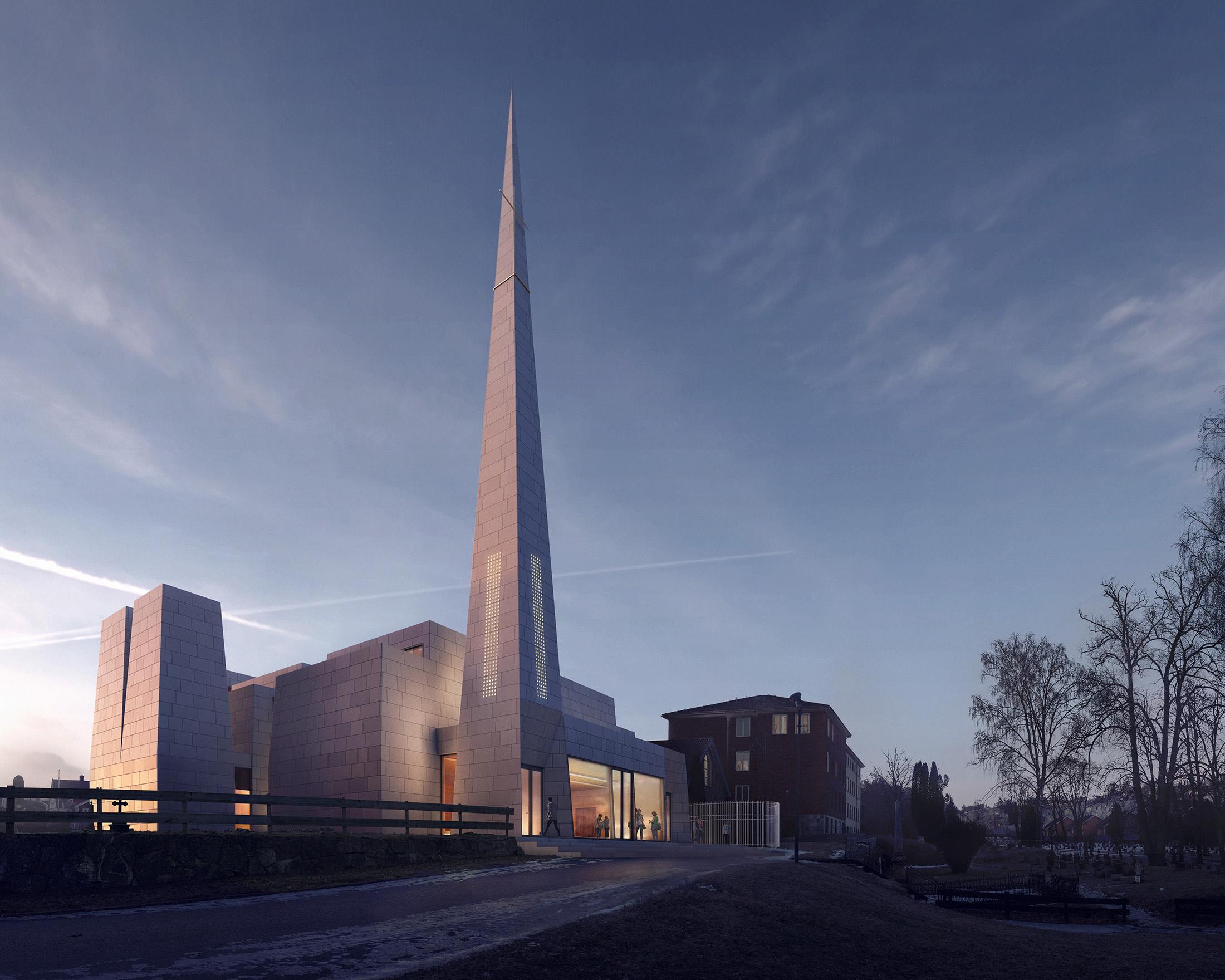 Troark & Surnevik, Porsgrunn Church, Norway, 2017