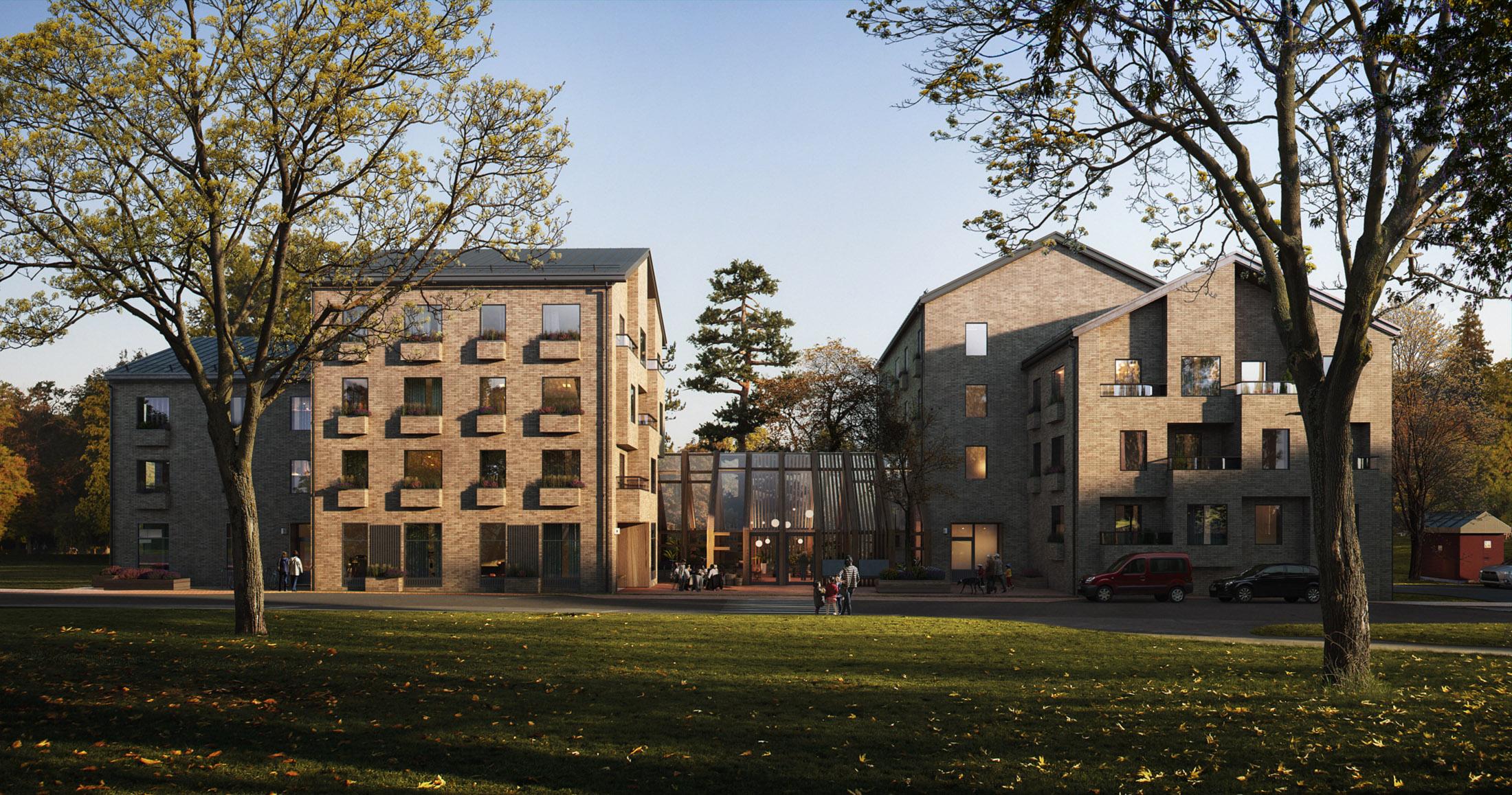Utopia, Service Housing in Gustavsberg, Sweden, 2018