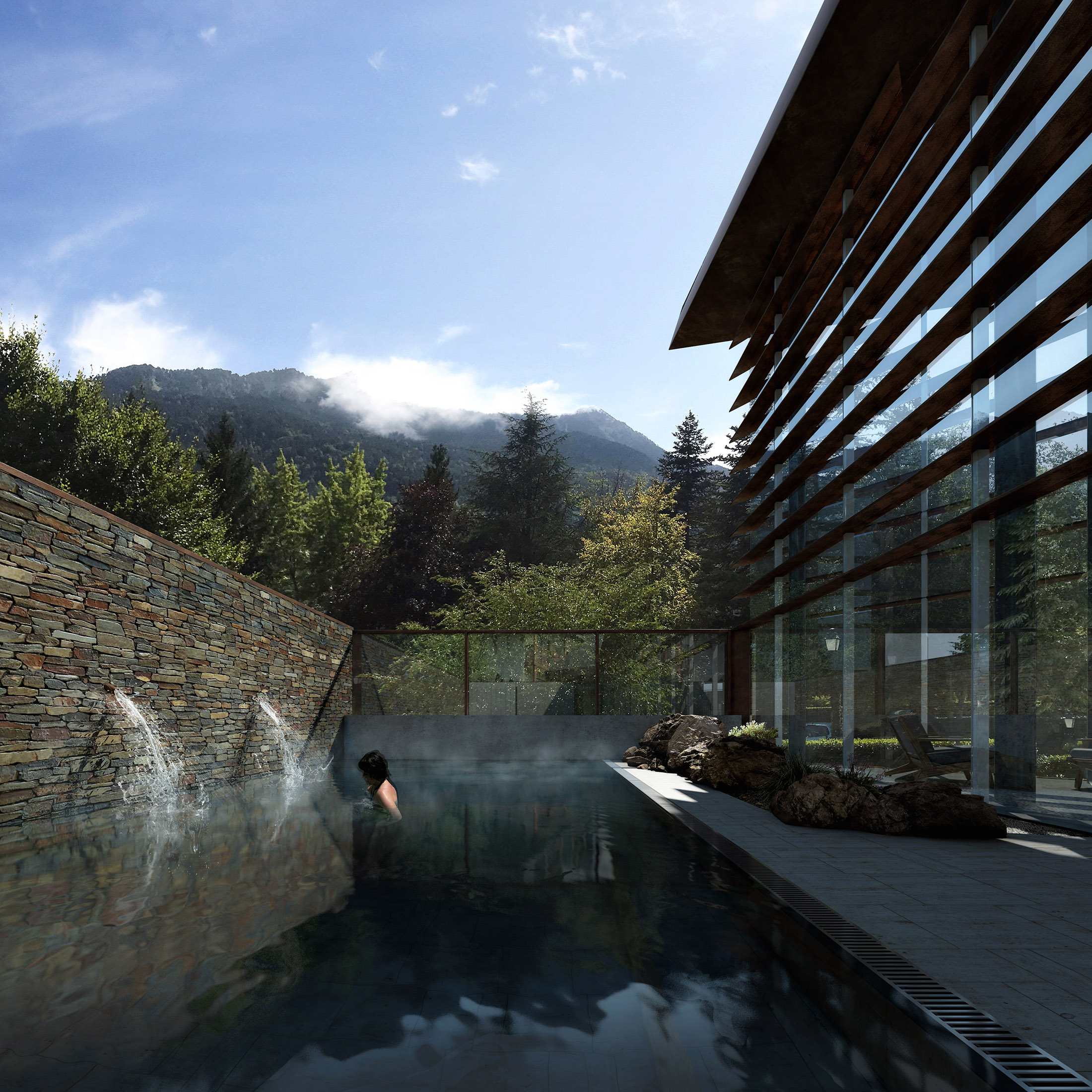 V2S Architectes, Thermal Center, France, 2018